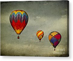 Hot Air Balloon Race Acrylic Prints