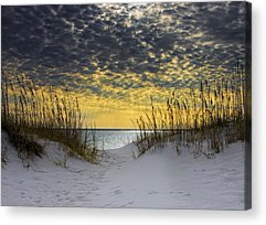Florida Sunset Acrylic Prints