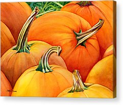 Harvesting Acrylic Prints