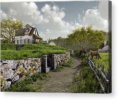 Country Road Acrylic Prints