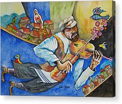 Fiddler On The Roof Acrylic Prints