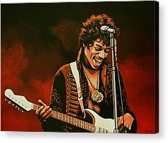 Fender Stratocaster Acrylic Prints