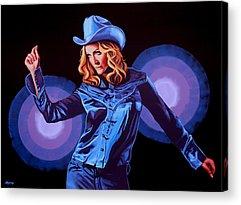 Popstar Acrylic Prints