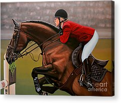 Paint Horse Acrylic Prints