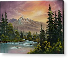 Mountain Stream Acrylic Prints