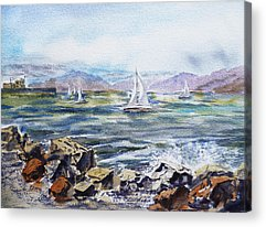 Rough Water Acrylic Prints