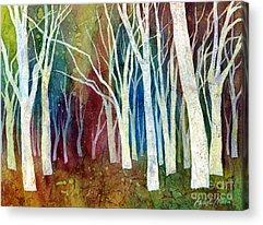 Autumn Abstract Acrylic Prints
