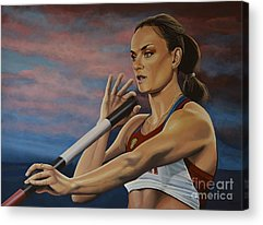 Track And Field Acrylic Prints