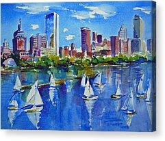 Charles River Paintings Acrylic Prints
