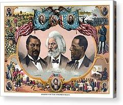 Frederick Douglass Acrylic Prints