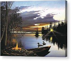 Campsite Acrylic Prints
