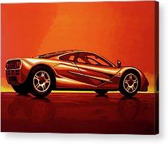 Top Gear Acrylic Prints