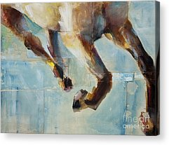 Abstract Horse Acrylic Prints
