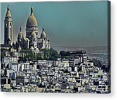 Architektur Paintings Acrylic Prints
