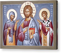 St Eleftherios Paintings Acrylic Prints