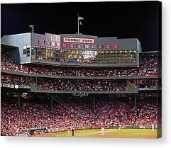Night At The Ballpark Acrylic Prints