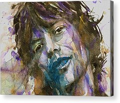 Mick Jagger Acrylic Prints
