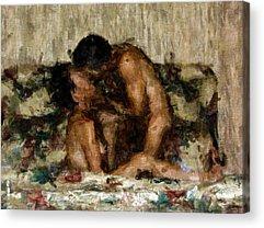 Nude Figurative Acrylic Prints