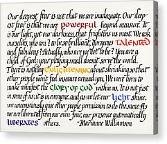 Enlightenment Acrylic Prints