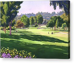 Golf Acrylic Prints