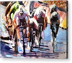 Le Tour De France Acrylic Prints