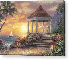Seaside Art Acrylic Prints