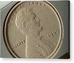 lincoln penny art fine art america