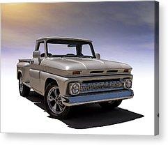 Classic Chevrolet Truck Acrylic Prints