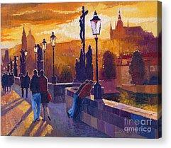 Promenade Acrylic Prints