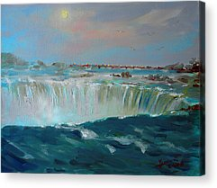 Waterfalls Acrylic Prints