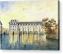 Chenonceau Acrylic Prints