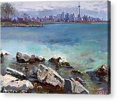 Toronto Ontario Acrylic Prints