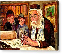 Montreal Synagogues Acrylic Prints