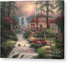 Redwoods Acrylic Prints