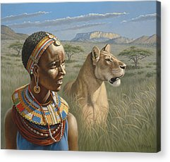 Kenya Acrylic Prints