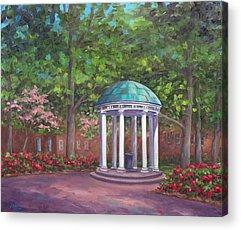 Unc Chapel Hill Acrylic Prints
