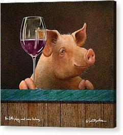 Wine Tasting Acrylic Prints