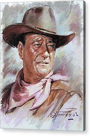 John Wayne Acrylic Prints