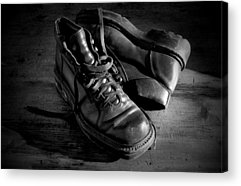 Old Shoes Acrylic Prints