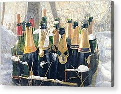 Champers Acrylic Prints