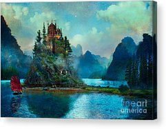 Castle Acrylic Prints