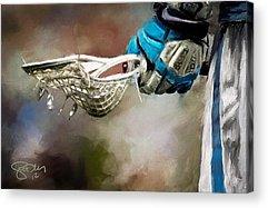 Gloves Acrylic Prints