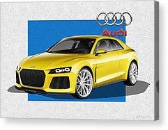 Audi Ag Acrylic Prints