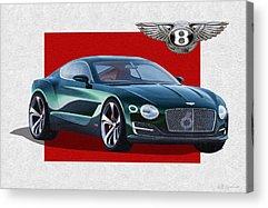 Bentley Motors Acrylic Prints