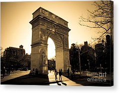 Washington Square Park Acrylic Prints