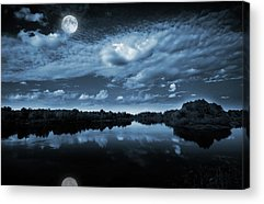 Darkness Acrylic Prints
