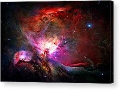 Nebula Acrylic Prints