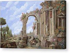 Roman Arch Acrylic Prints