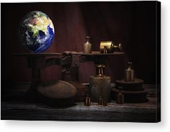 Weight Of The World Acrylic Prints