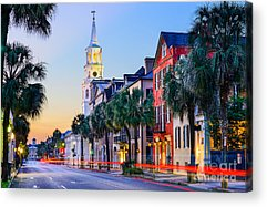 Steeple Acrylic Prints